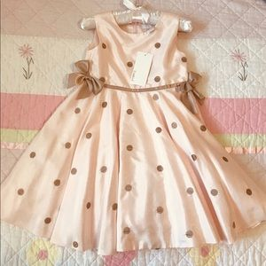 NWT Camilla Special Occassion Dress Pink and Beige